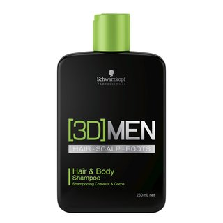 [3D] MENSION Hair & Body Shampoo 250ml